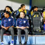 The bench India v UAE