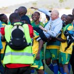 Rwandan National Team Throwing me around to celebrate qualification to African Nations Cup Group stage