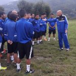 FIFA training session Bumthang Bhutan