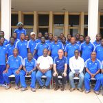 With the FIFA course participants in Ghana in 2016