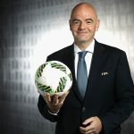 FIFA President Gianni Infantino  (Photo by Alexander Hassenstein - FIFA/FIFA via Getty Images)