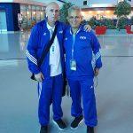 With Chile's National Team Coach Reinaldo Rueda in Qatar
