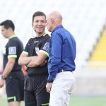 A word with the officials