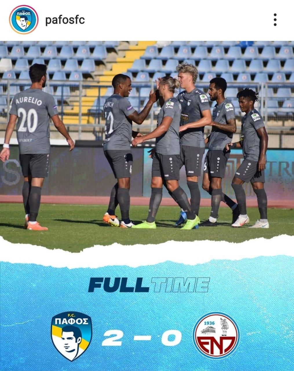 pafos FC V Enosis