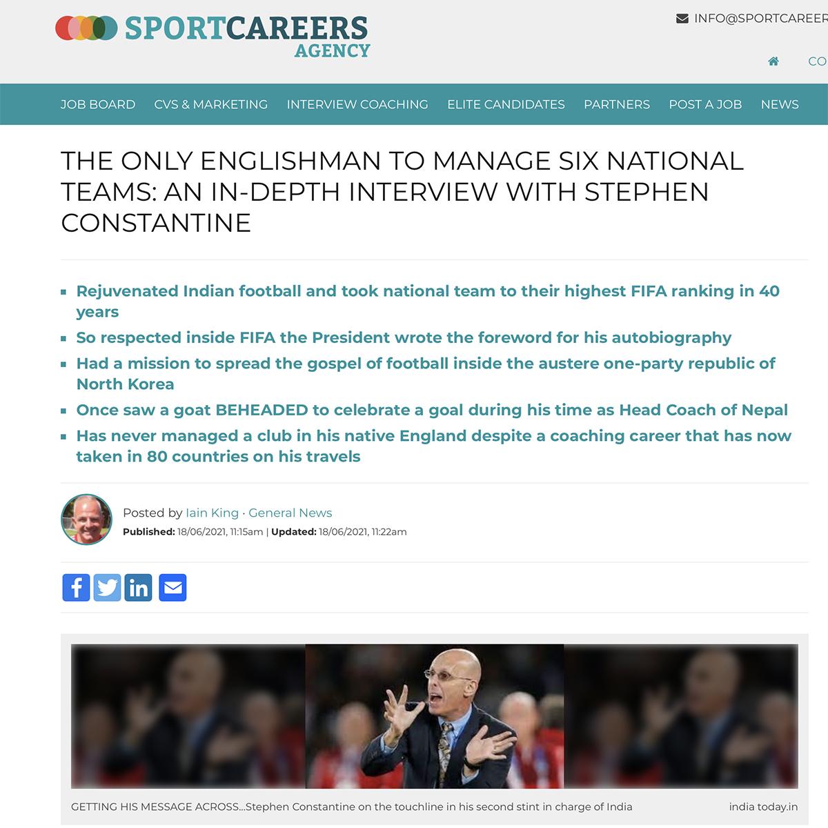 Sportcareersagency